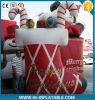 Riesige aufblasbare Weihnachtssocken, aufblasbare Weihnachtsgeschenk-Dekoration