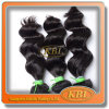 Aaaa 100%の自然なブラジルのバージンの毛