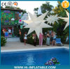 Estrella inflable No. Sst004 del partido de la decoración de la luz espléndida del centelleo con la luz del LED adentro para la venta