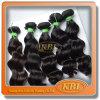 Extensão brasileira natural do cabelo humano de 100%