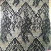LadyのGarmentsのためのポリエステルBlack Lace Fabric