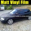 Pellicola nera del vinile dell'involucro dell'automobile del Matt