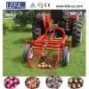 De mini Tractor gebruikte de Enige Aardappelrooier van het Knoflook van de Rij