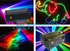 luz laser del disco de la demostración del laser de la animación de 2W RGB