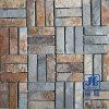녹스는 대리석 돌 모자이크 타일 문화 슬레이트를 마루청을 까는 성격