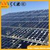 Baixo vidro completamente moderado do índice de ferro para a fábrica do painel solar