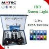 置換LEDの高く明るいキセノンH4ハイ・ロー8000k 6000kの10000kによって隠されるキセノンキット