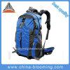 Im Freiensport-bewegendes kampierendes Gebirgssteigen, Rucksack-Beutel wandernd