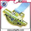 Grosses Award Medal mit Ribbon für Your Design Logo
