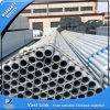 Tubo de acero pre galvanizado para el andamio