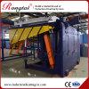 four à induction électrique de fréquence moyenne du creuset 1.5ton pour le fer