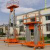 Aleación de aluminio Plataforma de elevación Aerail