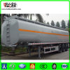 Remorque de camion de pétrolier de Tri-Essieu d'acier inoxydable