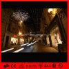 Luz ao ar livre da rede do Natal do diodo emissor de luz da decoração da rua