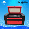 Máquina plástica de borracha do laser do CO2 da gravura da estaca das cabeças dobro (FMJ1390)