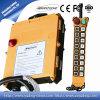Commutateur de bouton poussoir à télécommande de grue sans fil industrielle de l'électronique de F21-18d à vendre