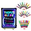 LED Writing Menu Board mit Marker Pens