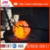 El borde y el material de acero forjados es A105/Q235/Ss400/Ss41/St37.2/304L/316L