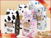 Süßigkeit-Nahrungsmittelkasten-Geschenk-Kuchen gedruckter Verpackungs-Kasten