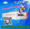 Impresión automática corrugado que ranura la máquina troqueladora