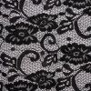 2014scalloped Cord Lace Fabric para Wedding Dress (1187)
