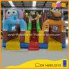 Glissière Cliffy personnalisée de tunnel de jouet gonflable animal géant (AQ01673)
