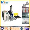 Botones/conjunto/venta eléctrica de la marca de la etiqueta de plástico del laser de la fibra de China 3D 20W de los componentes