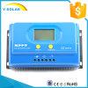 Controlador solar Ys-20A +Ce-RoHS-FCC das certificações portuárias de MPPT 20A 12V/24V RS232