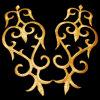 [سملّ وردر] مصنع بيع بالجملة [ديي] فنّ حرفات شريكات [برقو] [دنسور] نوع ذهب فضة [إيرون-ون] [أبّليقو] رقعة تطريز [أبّليقوس]