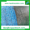 파란 사려깊은 벽 매트 열 포일 담요 포일 거품 절연제 롤