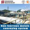Sistema de transportador de metal no ferroso