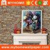 Diseños de papel decorativos de piedra del papel pintado 3D del hogar del papel de empapelar del ladrillo barato de Guangzhou