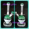 Grüne Farben-neuester Entwurf Pokemon Tabak-rauchendes Wasser-Glasrohr