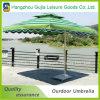 Paraguas plegables desmontables convenientes impermeables cuadrados del jardín