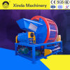 Doble eje completo de la máquina trituradora de neumáticos