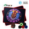 바느질한 가장자리 도박 마우스 패드는을%s 가진 로고를 주문 설계한다