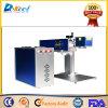 de draagbare CNC Laser die van de Vezel het Metaal 110*110 merken van de Machine Engaving