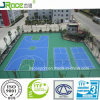 テニス、バドミントン、バレーボール、バスケットボールコートのためのシリコーンPUのスポーツの表面