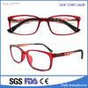 Marco marcos de los vidrios rojo suave miope TR90 óptica de gama alta de los niños