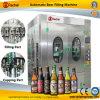 Tipo medio embotelladora de la cerveza automática