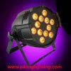 iluminación de 12X18W Rgabwuv 6in1 PAR64 DJ