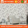 Waschbare Blumen-Entwurf Wallcovering Wand-Dekoration