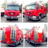 Хорошая пожарная машина Volume 5cbm-10m3 Quality Sinotruk HOWO, Fire Fighting Truck с огнетушителем, пожарной машиной Water Carrier