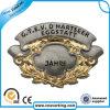 Insigne matériel de Pin de revers d'émail d'OEM en métal fait sur commande mol d'insigne