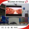 Affichage à LED extérieur polychrome de la vente en gros P10 d'usine de Shenzhen