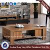 黒い木の居間の家具の茶コーヒーテーブル(HX-6M303)