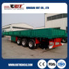3 차축 40ton 13m 600mm Detachable Sidewalls Dropside Trailer