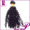 アフリカのねじれた毛の大きさは、引き分けのブラジルの人間の毛髪の束を倍増する