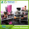Organisateur cosmétique acrylique clair multicouche et organisateur de mémoire de renivellement