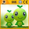 Милые изготовленный на заказ раздувные зеленые талисманы всхода (BMCD30)